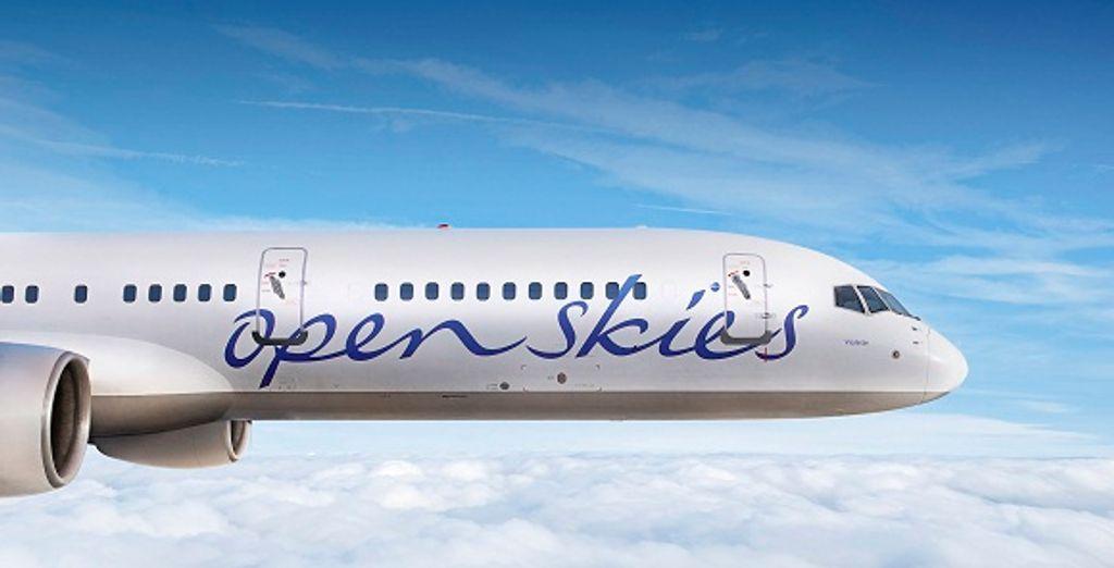 Un avion de la compagnie OpenSkies