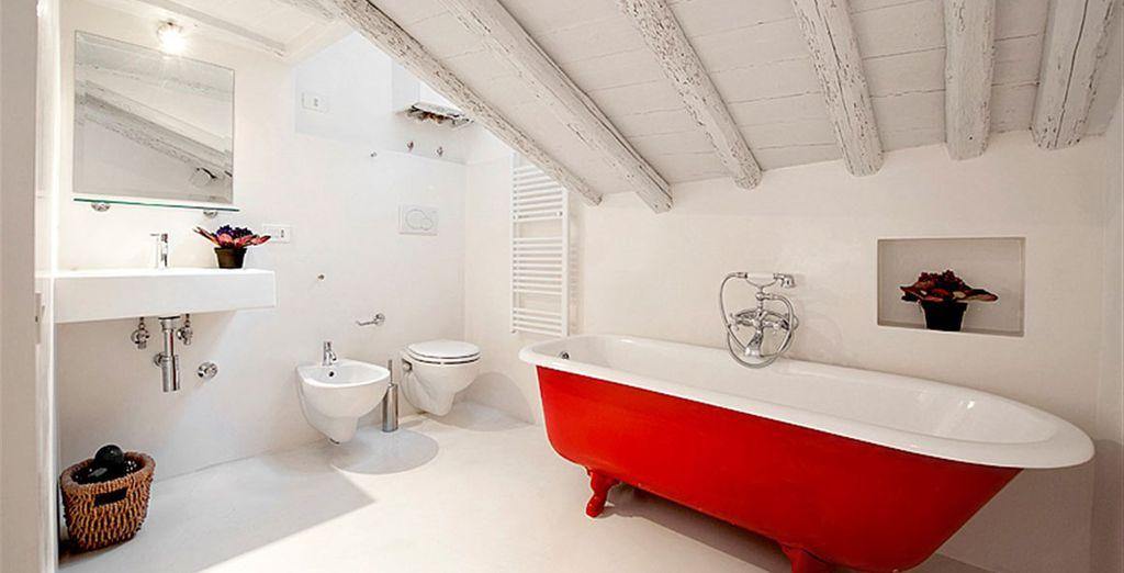Appartement 4 : La première salle-de-bains