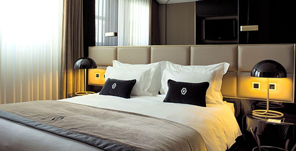 Appréciez le confort de la chambre Classic