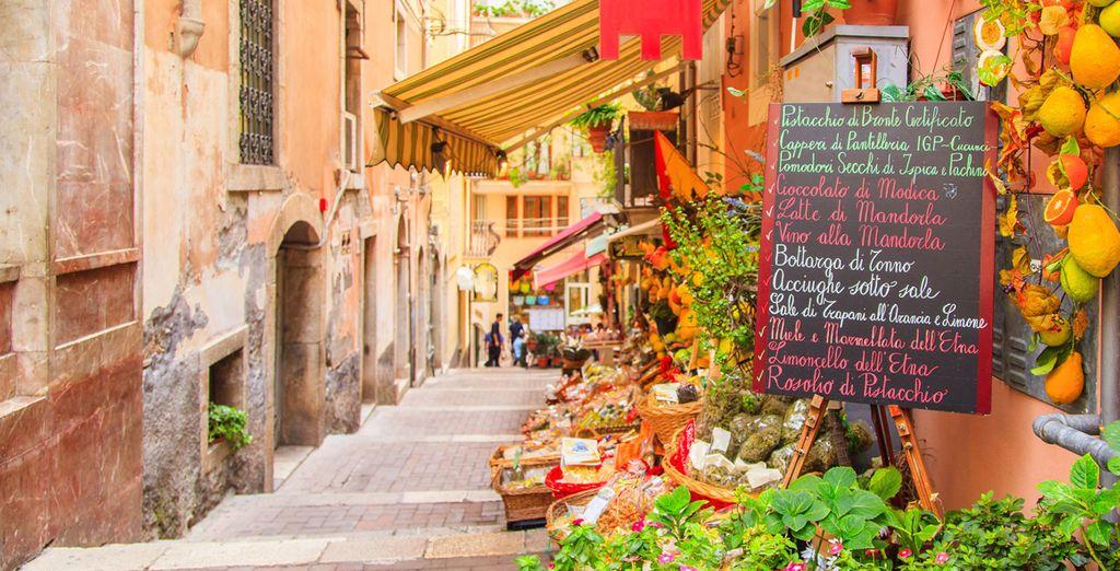 I sapori tipici siciliani vi aspettano