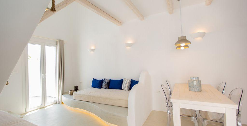 Naxian utopia luxury villas suites voyage priv fino a - Hotel con piscina privata grecia ...