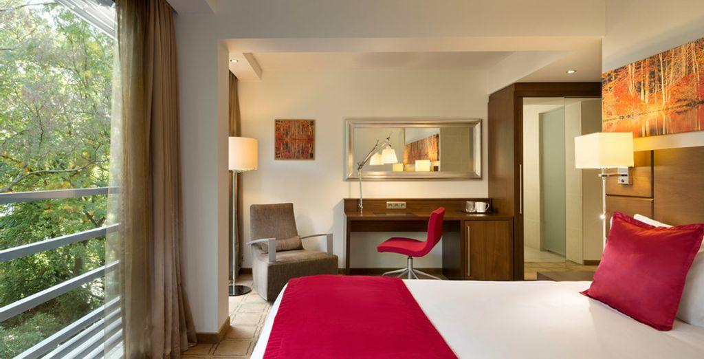 Sentitevi come a casa nella vostra comoda stanza (in foto: camera superior)