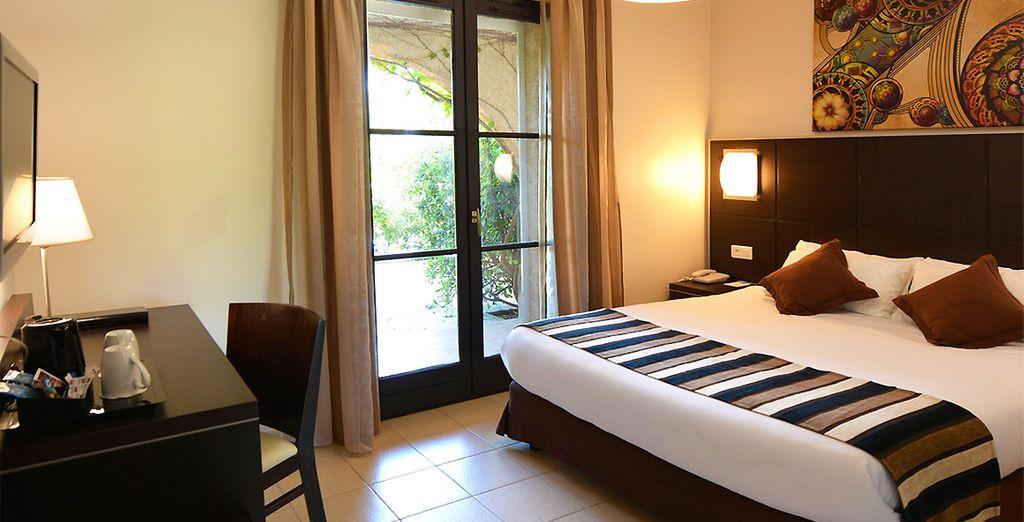 Hotel di charme con confortevole camera doppia e ristorante gourmet francese