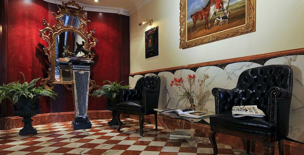 Benvenuti nello stile accogliente dell'Hotel Britannia 4*,