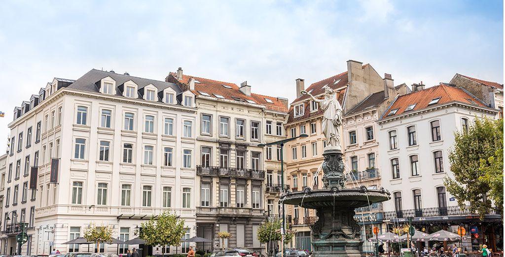 Benvenuti al Pillows Grand Hotel Place Rouppe