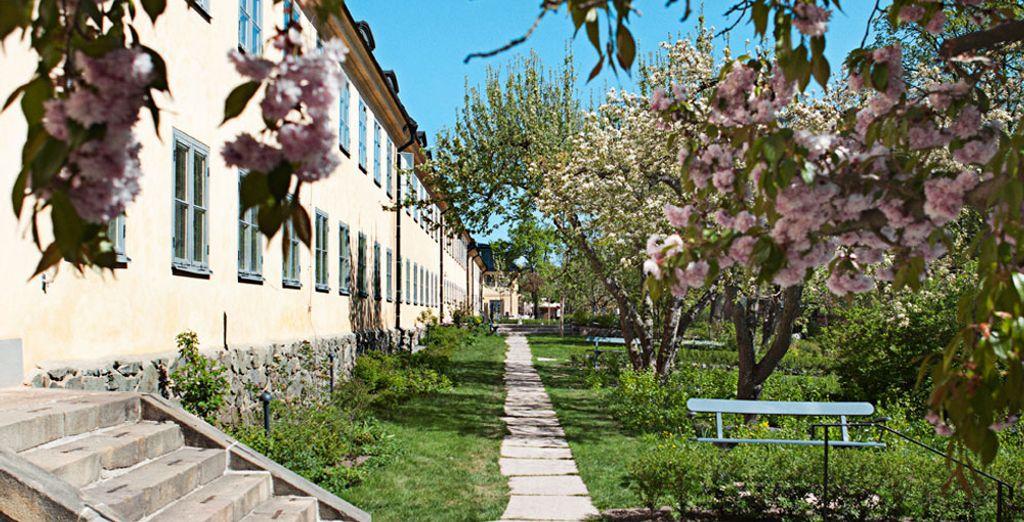 In questa cornice tranquilla vi attende l'Hotel Skeppsholmen 4*