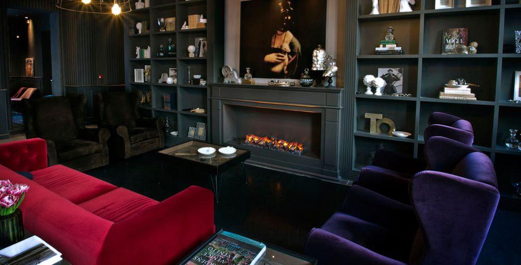 Hotel di lusso a Milano, con lounge e area relax