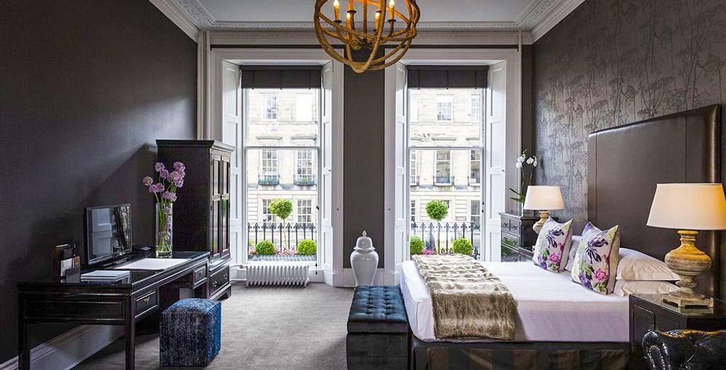Avete voglia di scoprire Edimburgo con stile?