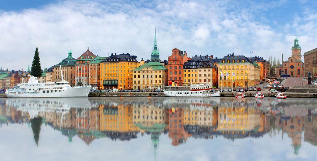Rimarrete meravigliati davanti ai suoi colori che si specchiano nel Mar Baltico