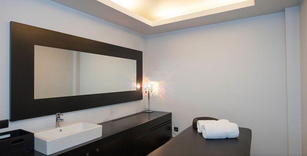 Dopo aver visitato la città potete concedervi un soggiorno nell'area benessere per rilassarvi con un massaggio