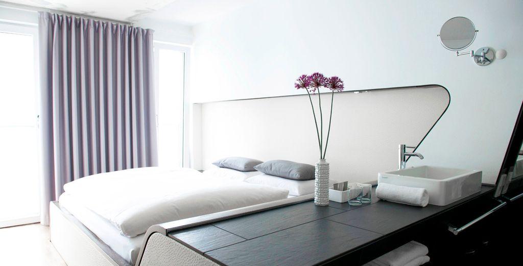 Hotel de luxe tout confort 4 étoiles avec lit double et au cœur de Berlin, à proximité de toutes activités