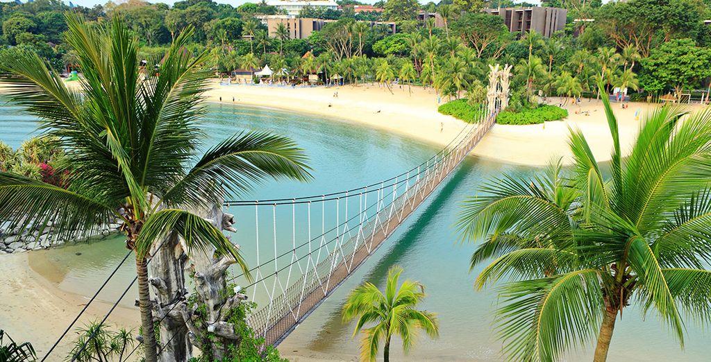 Spiagge nei dintorni di Singapore