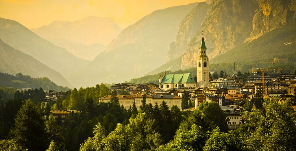 Non mancate di visitare il centro di Cortina,