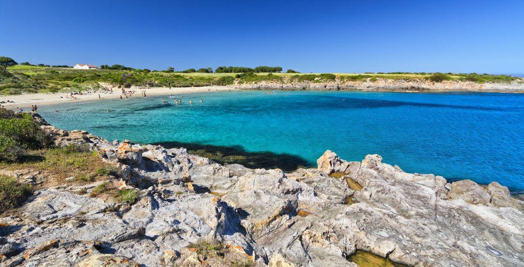 Le spiagge dalle acque cristalline vi offrono un'occasione d'evasione...