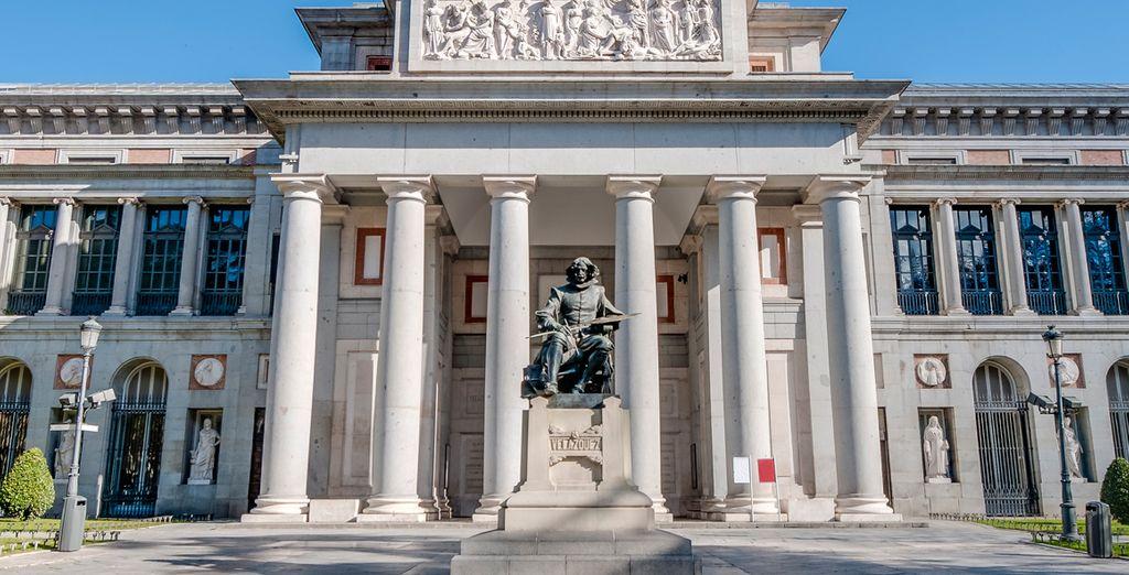 Nei pressi del Museo del Prado e altri grandi musei della città