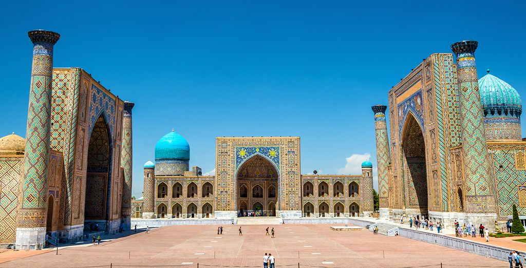 Benvenuti in Uzbekistan