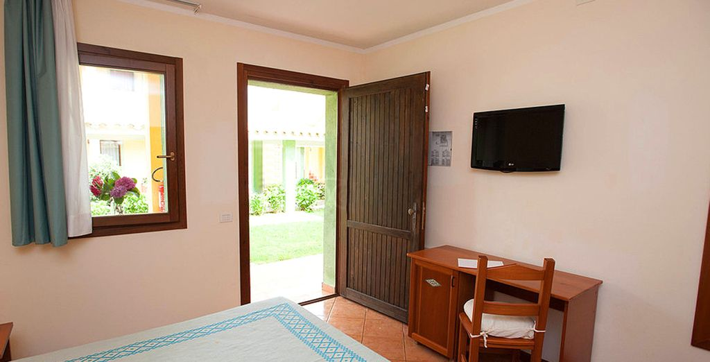 Ideale per trascorrere un soggiorno sereno e rilassante