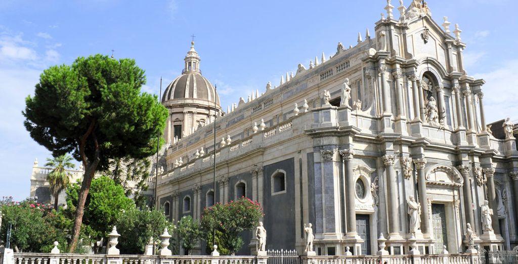 Catania : cattedrale di Sant'Agata