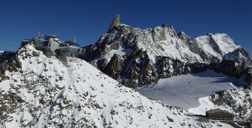nella cornice meravigliosa delle Alpi