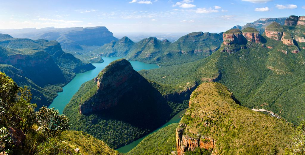 fino ad arrivare al cuore del deserto del Sudafrica, a White River
