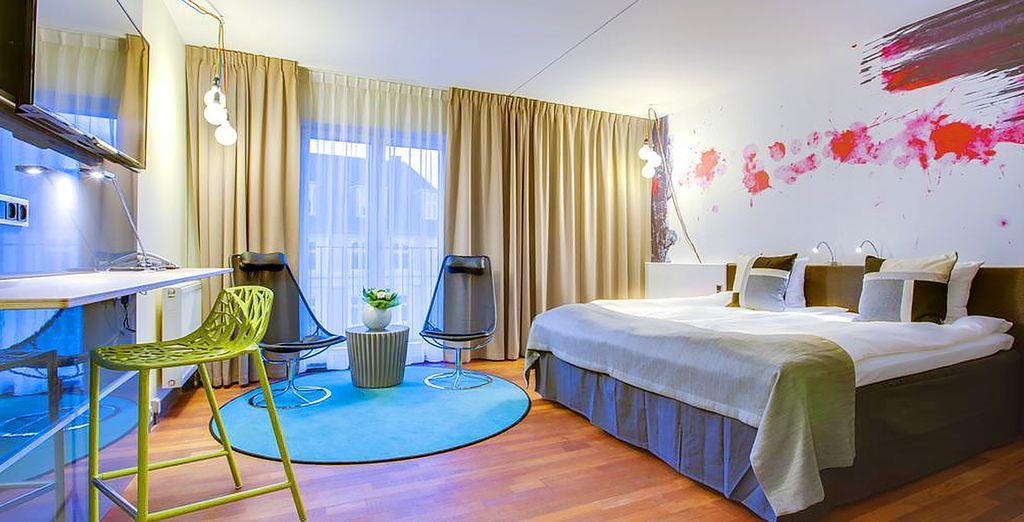 Comfort Hotel Vesterbro 4* e camera confortevole nel cuore del centro di Copenhagen