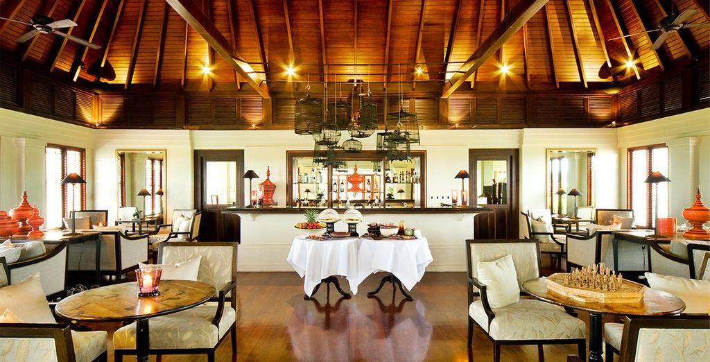 Gustatevi un tè pomeridiano in un ambiente elegante e confortevole