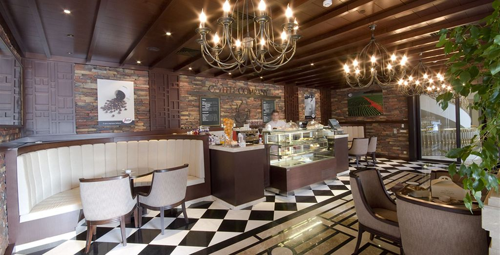 Il coffe company una tipica caffetteria italiana dove potrete gustare ottimi caffè e cappucini