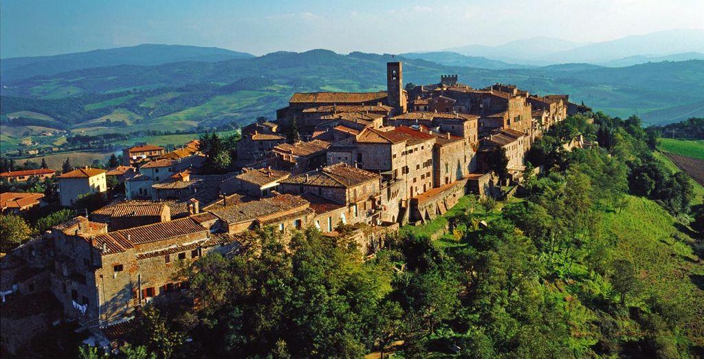 Il vostro Aquaviva Hotel & Spa con vista panoramica sulle colline senesi