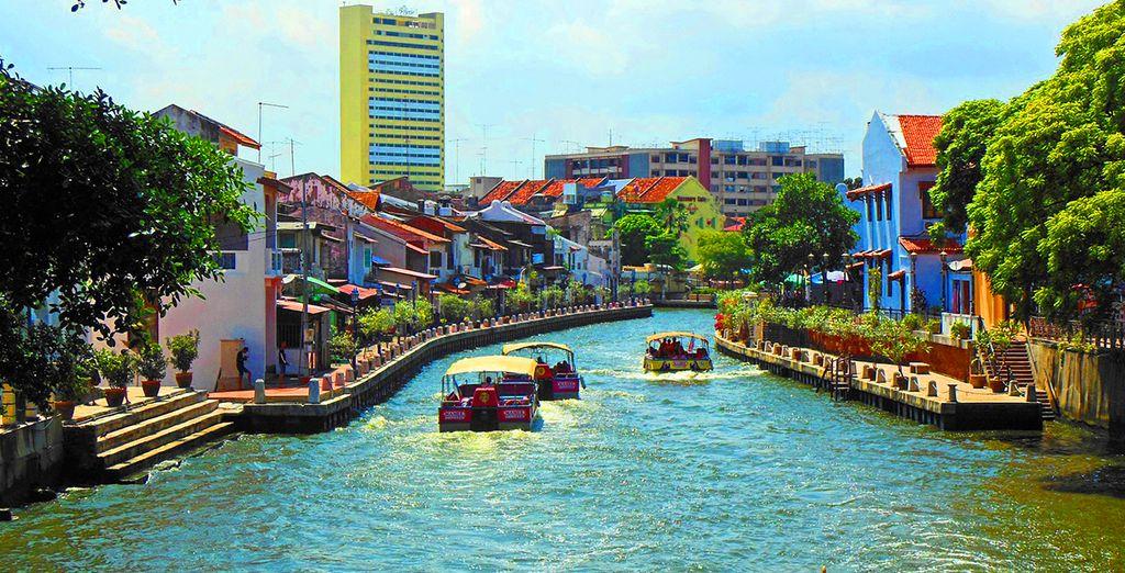 E proseguite verso Malacca