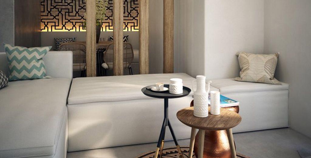 Immersi nei comfort della vostra Suite