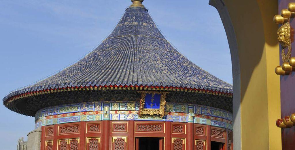 splendido complesso di edifici taoisti