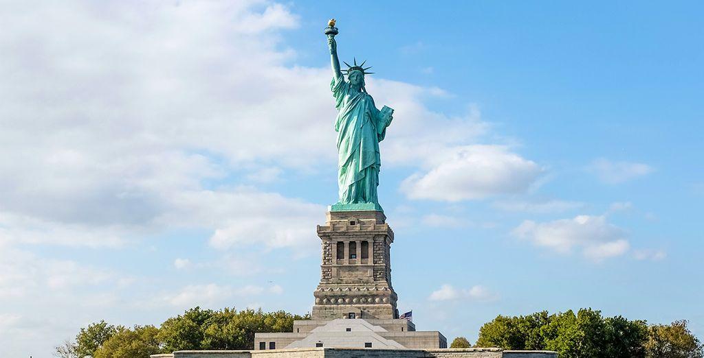 Le sue attrazioni più celebri come la Statua della Libertà