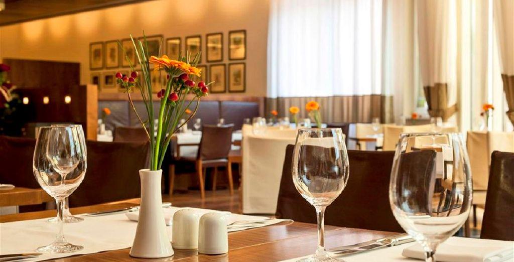 e ai ristoranti dell'hotel potrete gustare piatti locali e internazionali