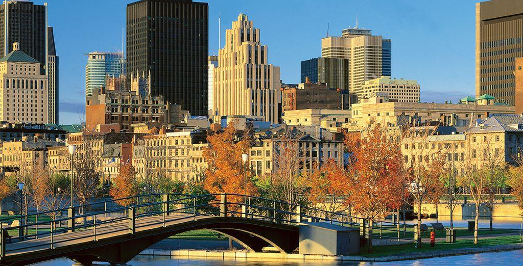 Visita Montreal, capitale del Canada