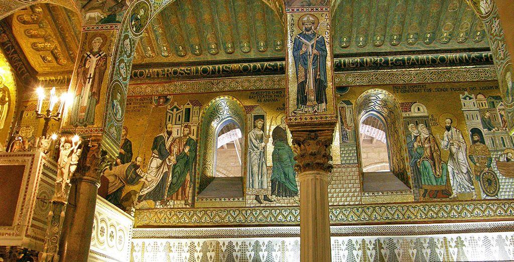 Palermo : Cappella Palatina