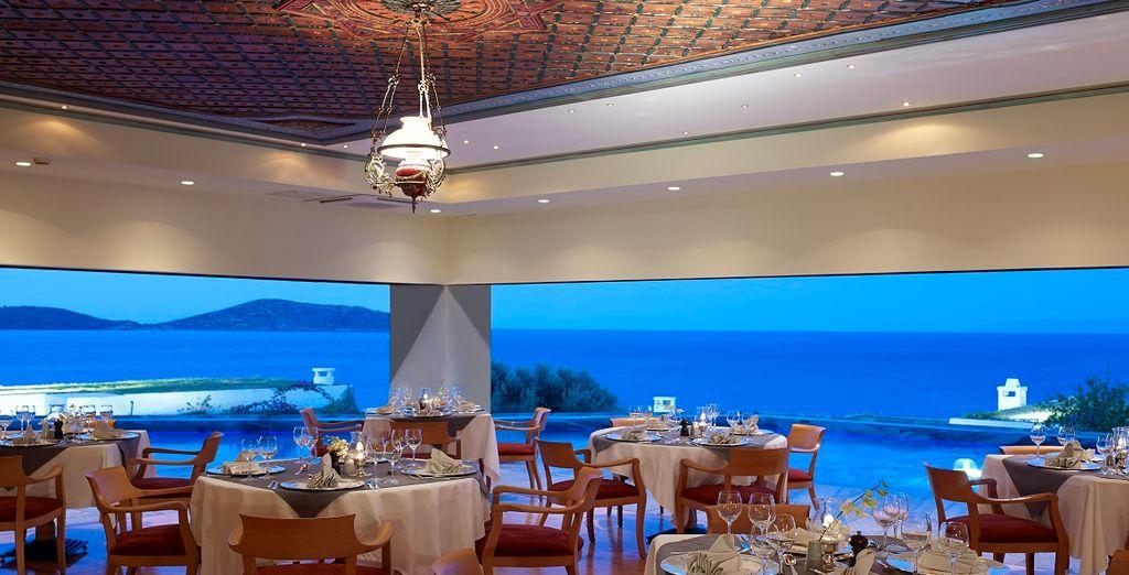 E in serata approfittate dei ristoranti dell'hotel, il Calypso
