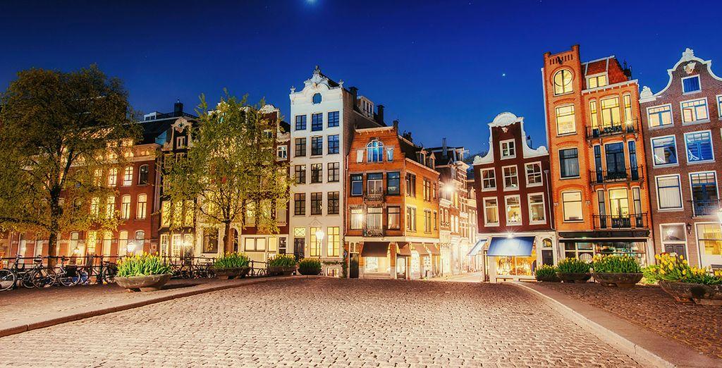 Godetevi l'atmosfera unica di Amsterdam