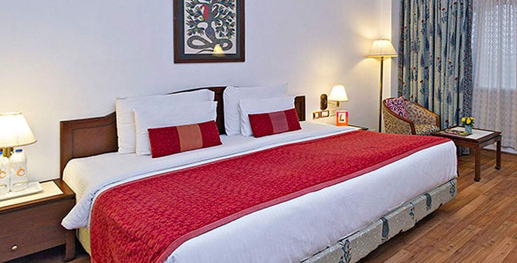 pernotterete nell'hotel Clarks Shiraz
