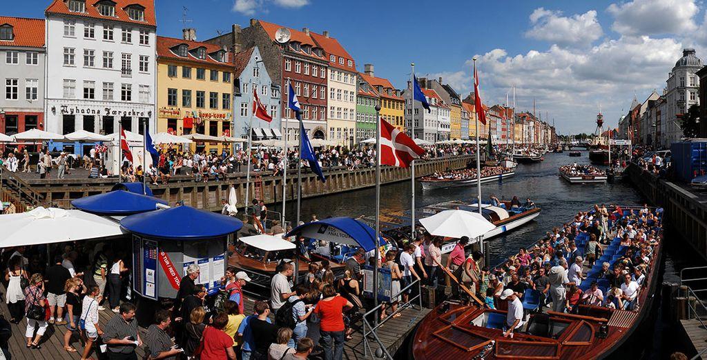 ...il tipico quartiere di Nyhavn