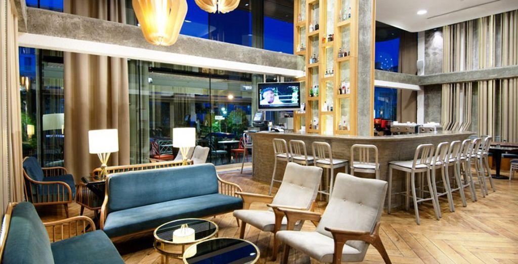 Il vostro moderno hotel a 4* vi dà il benvenuto