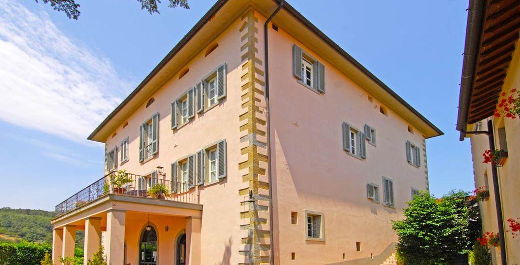 Soggiornerete in una splendida residenza storica