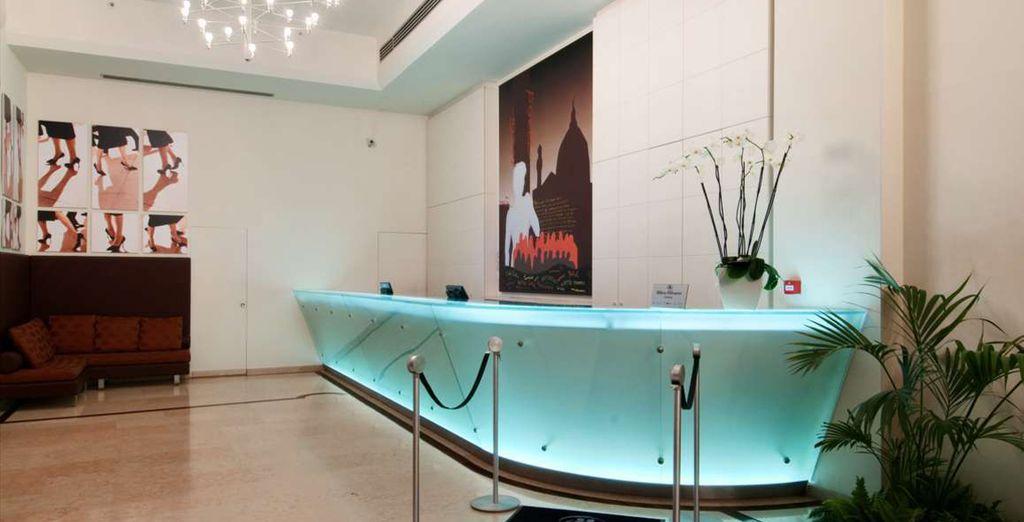 Modernità, accoglienza e lusso: questi sono i punti di forza di un hotel Hilton