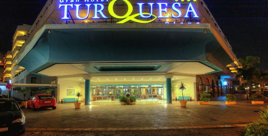 Il vostro Gran Hotel Turquesa Playa****