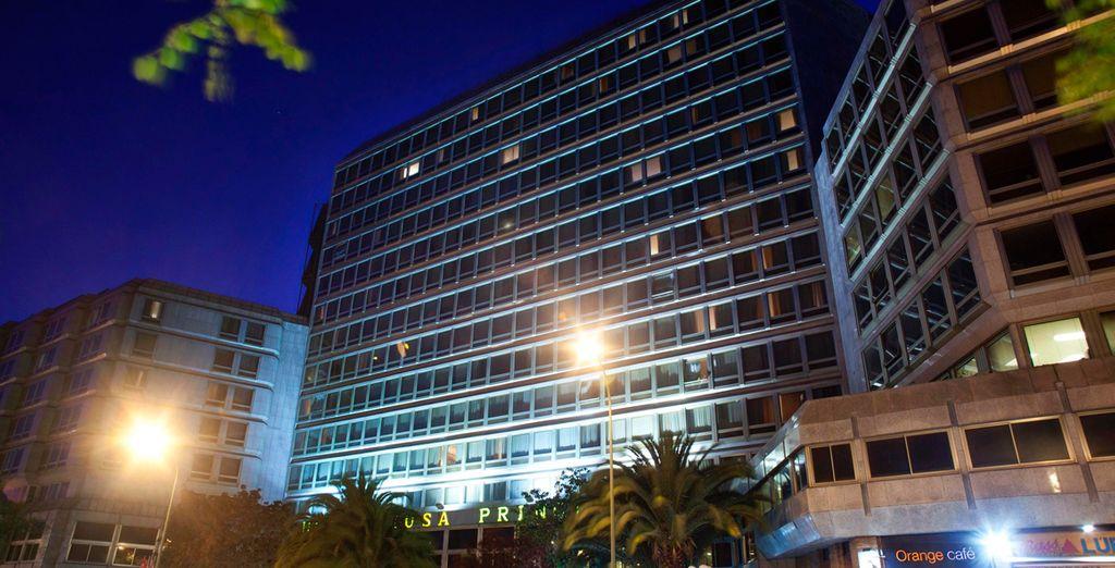 L'Hotel Princesa 4* è situato nell'elegante quartiere di Argüelles