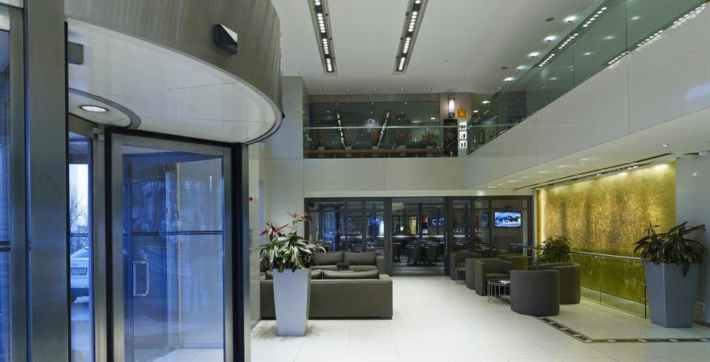 Soggiornate in questo moderno hotel 5*