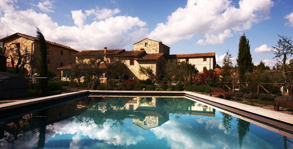 Rilassatevi nel meraviglioso panorama naturale di Gaiole in Chianti