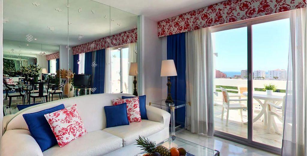 soggiornerete in una splendida suite