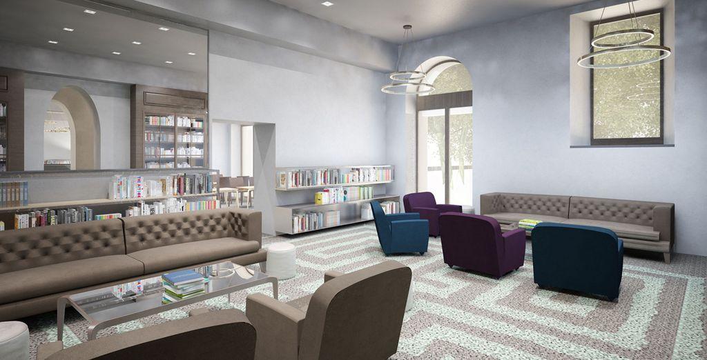 La vostra struttura offre ampi spazi di relax
