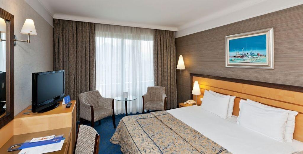 La vostra camera standard dotata di tutti i comfort