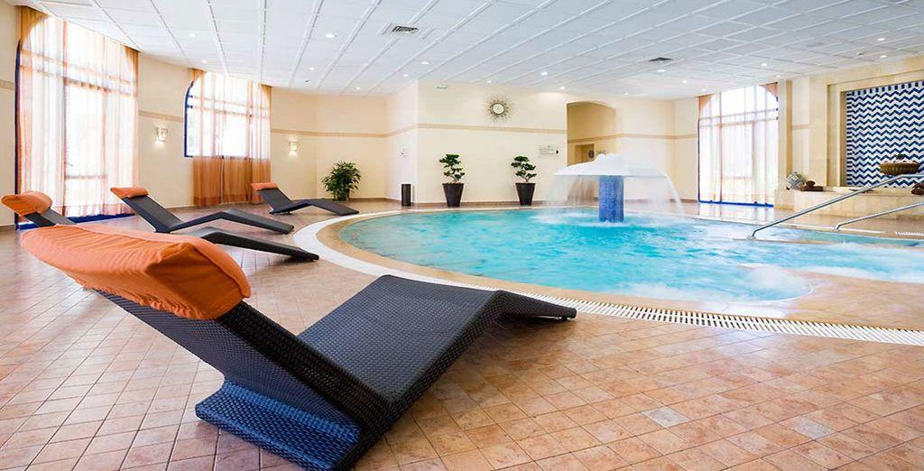 Rilassatevi nel centro benessere dell'hotel